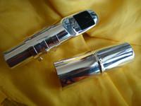 Wholesale Silver Alto Sax - Super Jazz Metal Mouthpiece Alto Saxophone Eb Sax Mouth Silver plating