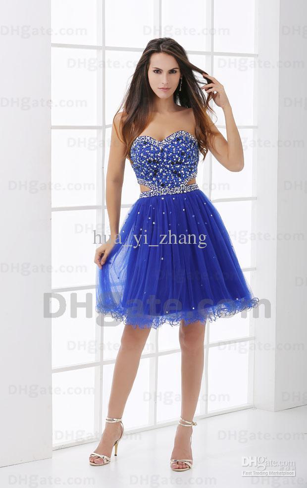 Royal Blue Party Dresses - Ocodea.com
