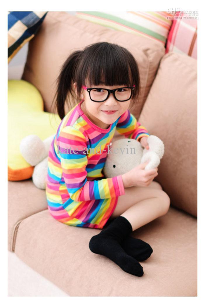 Rainbow Baby Shirt: Best Baby Clothing Korean Design Rainbow Striped T Shirt