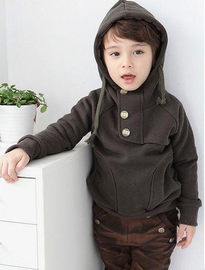 2016 Höstfjäder Barnhoodies Sweatshirts Kids Coat Boys Hoody Barnkläder Höst Boys Hoodies Sweatshirt