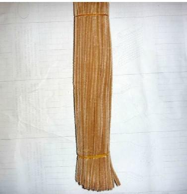 6mm*30cm Light coffee diy chenille stems and pipe cleaners 500pcs/lot