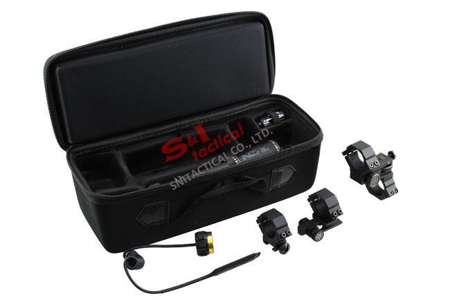 ND3 Green Laser Hochleistungs-ND3X30 Licht-Designator mit einstellbarer Zielfernrohrmontage