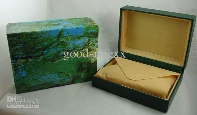 Mens For Rolex Watch Box Original Green Wooden Box Inner Outer Unisex Womanu0027S 116610 Factory 116660 Luxury Brand 116710 Men Watches Boxes Watch Gift Box ... & Mens For Rolex Watch Box Original Green Wooden Box Inner Outer ... Aboutintivar.Com