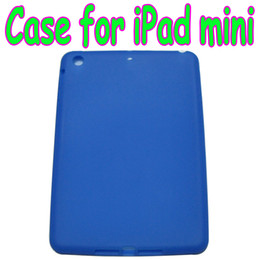 """Wholesale Ipad Soft Silicone Back - Colorful silicone Back Cover Case Soft skin Cases for 7.9 inch 7.85"""" iPad mini Free shipping 10pcs"""
