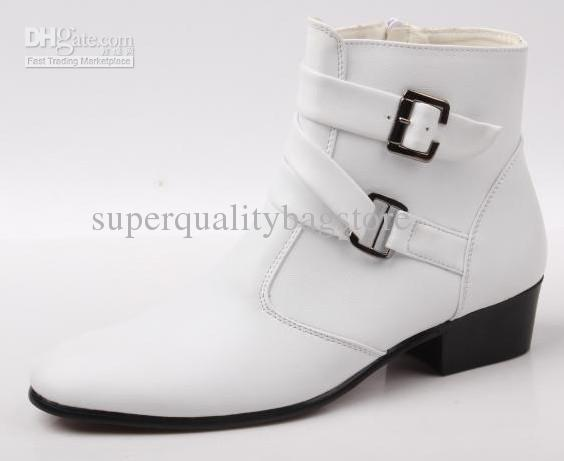 white leather boots mens