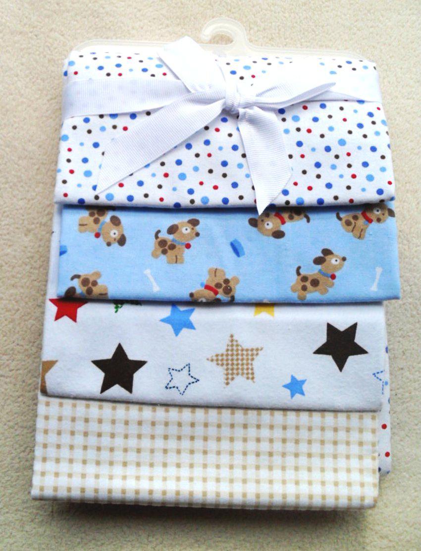 Baby Fleece Blankets Cotton Receiving Blanket Material