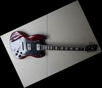 Wholesale Electric Guitar Wine Red - Custom Shop Red SG Model High Quality Electric Guitar wine Top Musical instruments bordeaux 02 18