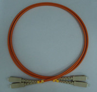 Wholesale Patch cord cable SC SC OM1 Multimode um MM SC SC Orange Duplex jumper PVC mm M