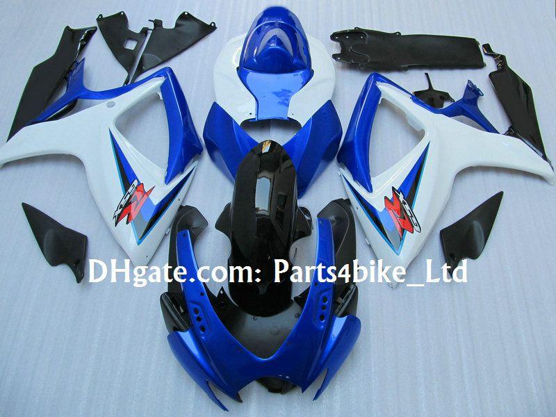Kit de carenagens para 2006 2007 SUZUKI GSXR 600 750 K6 GSXR600 GSXR750 06 07 K6 K7 alta qualidade