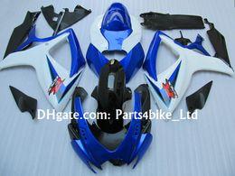 Wholesale K6 Kit - Fairings kit for 2006 2007 SUZUKI GSXR 600 750 K6 GSXR600 GSXR750 06 07 K6 K7 high quality