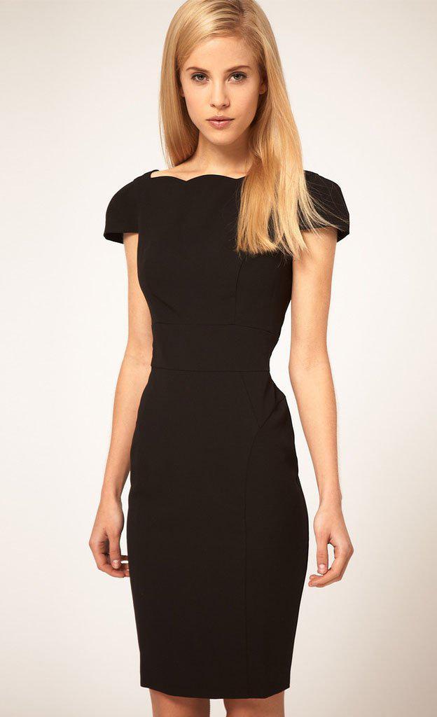 Wholesale Classic Sheath Dress Little Black Dress Red Brand Tight ...
