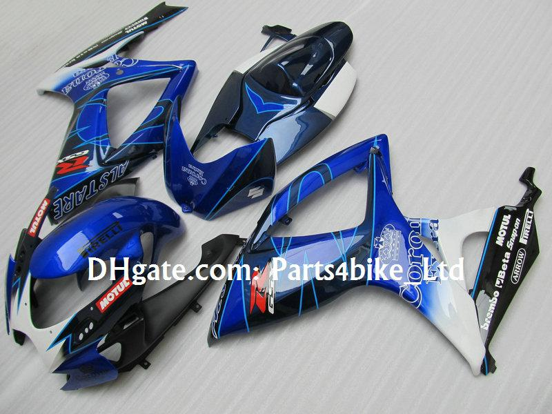 Kit de carenagem de cor azul ALSTARE para 2006 2007 SUZUKI GSXR 600 750 K6 GSXR600 GSXR750 06 07 gsx r600