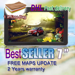 """Wholesale 3d Camera China - 7"""" GPS tracker Navigation Car GPS with CPU 800MHz 8G 128M Bluetooth+AV-IN+wireless camera+2013 latest 3D world map+DHL free shipping"""