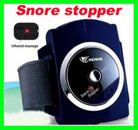 Wholesale Snore Gone - Best price 20pcs lot RA Anti-Snoring Device Infrared Rays Snore Gone Stopper Watch Stopping Snore