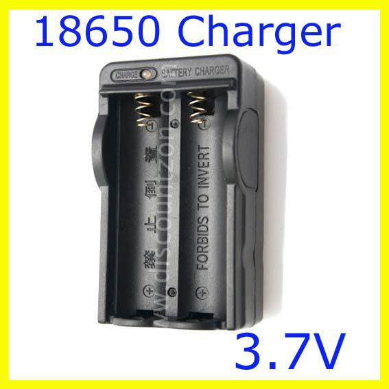 free ship,10pcs charger For 18650 Battery AC/Home/Wall Dual Charger with Retail package