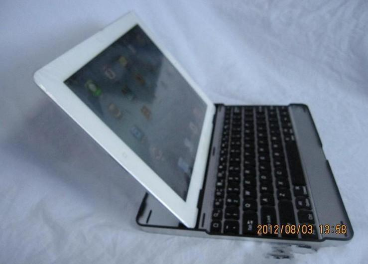 For ipad air 78 keyboard Bluetooth Wireless Keyboard Case For iPad 2 3 4 with stand sleep model