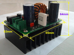 Wholesale dc boost - 600W 10-60V to 12-80V Boost Converter Step-up Module Power Supply DC-DC converter for car