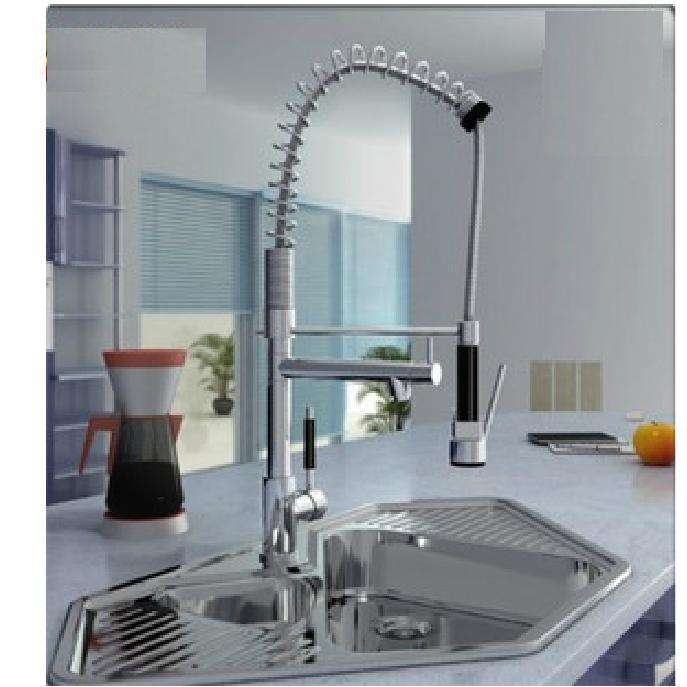 Online Cheap 2012 Hot Kitchen Faucet Faucet American High Pressure ...
