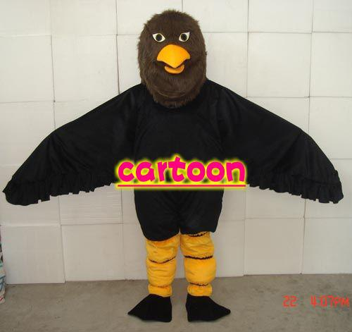 Eagles Kite Vulture Mascot Costume Adult Sizefancy Dress Adult One