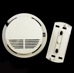 Wholesale 99 Zone Wireless Alarm - Wireless Cordless Smoke Fire Sensor Detector For My 99 Zones Alarm System 315MHz