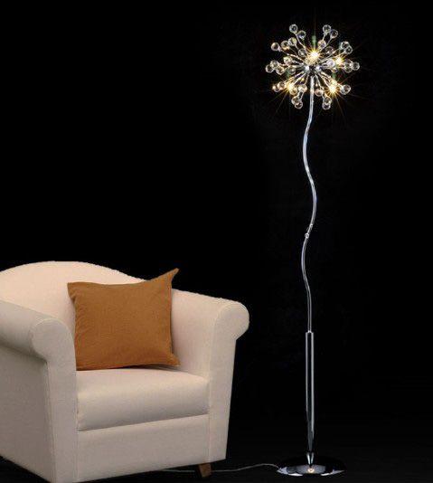 Modern Fashion K9 Crystal Floor Lamp Living Room Bedroom ...