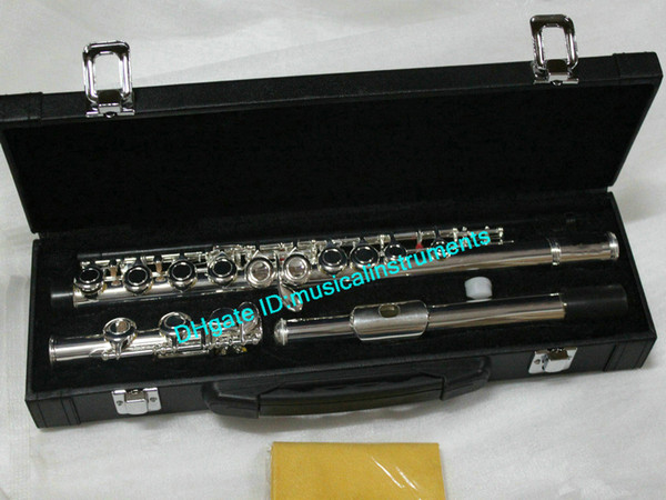 Wholesale New Arrival 221 Flute with case Top Musical instruments Free Shipping