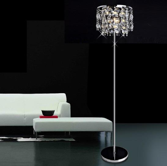wholesale modern stylish simplicity k9 crystal floor lamp lights living room restaurant study room by under dhgatecom