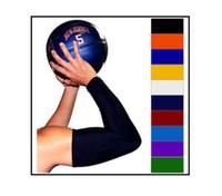 Wholesale basketball elbow bands - NEW! Basketball Shooting Arm Sleeve SHOOTING SLEEVE WHITE ARM BAND BASKETBALL
