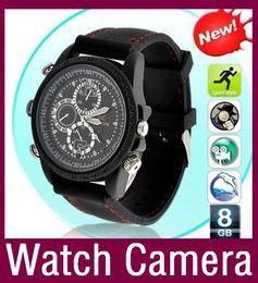 Wholesale Pc Wrist Watch - 16GB hidden camera watch cam Dvr wrist watch Waterproof Hd Mini camera High quality DV PC webcam