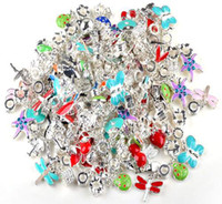 Wholesale Cheap European Charm Beads - 100pcs lot Bead For Pandora Spacers For European Charm Bracelet Jewelry Findings Wholesale CHeap Free Ship [BD122*100]