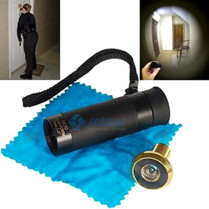 Monocular Peelholes Reverse Door Viewer Tactical Door Reverser Optics Cat Eye Inverser Home House Security on Sale