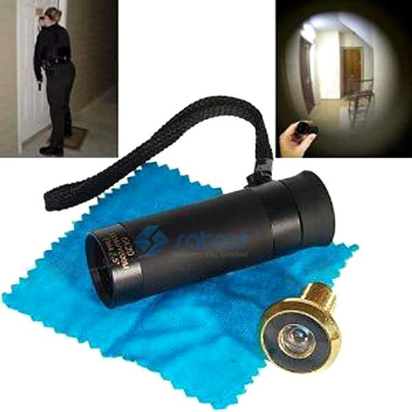 top popular Monocular Peelholes Reverse Door Viewer Tactical Door Reverser Optics Cat Eye Inverser Home House Security 2021
