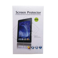 Wholesale New Ipad 16 - 10pcs lot New High Quality 7 Inch LCD Screen Protector Guard Film For Tablet