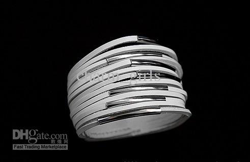 60st * Knapparmband / 13 lagerfilament / PU Lädermetallband Multi-Layer Läderarmband