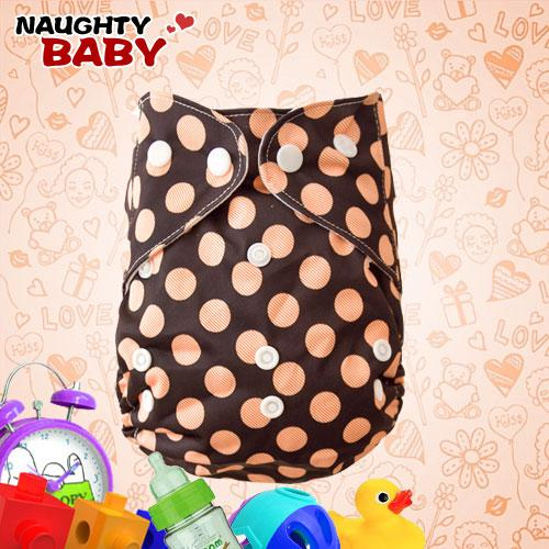 New Lovely Naughtybaby cloth diaper reuseable printed nappy covers no inserts 25 Pcs