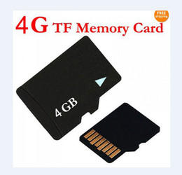 Wholesale Mini Sd Cards 4gb - Real 4GB TF Card T-Flash MicroSD 4 GB Micro SD Memory cards for Camera Mini DV DVR Cell phones