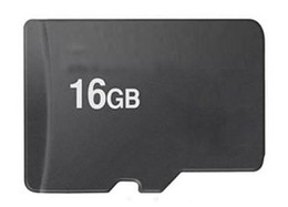 Wholesale 16g sd cards - Real 16GB Microsd micro SD HC Memory Card TF card Genuine 16 GB 16G with adapter in plastic box