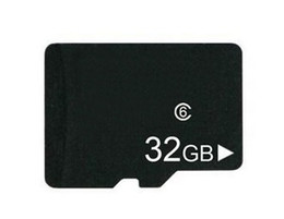 Wholesale Sd Cards Real - REAL 32GB MICRO SD TF MEMORY CARD Class 6 SDHC 32 GB MICROSD HC TF 32G w Adapter in clear box