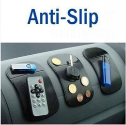 Anti Slip Mat No Slip Car Dashboard Sticky Pad Mat Gel de sílice potente Magic Car Sticky Pad