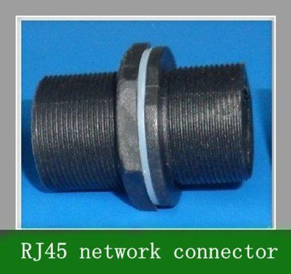 top popular 10pcs M20 8-core waterproof RJ45 network connector 2021