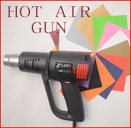Wholesale Electric Car Tools - 1PC 2000W electric Hot Air Gun, car wrap professional heater tool, temperature adjustable heat, industrial suitable. Industrial quality 220V