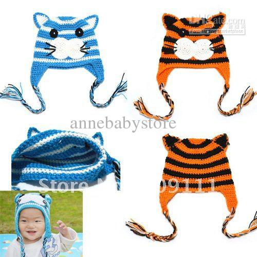 2019 Baby Animal Beanies Crochet Tiger Hats Baby Hats Knitted Hat Handmade  Toddler Knit Cap H069 From Annebabystore 8a2d159abb7