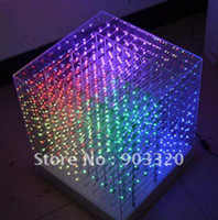 Wholesale Freeshipping NEW SMD0805 in1 D LED Cube Light D Cube Light for Advertising Disco party Show Exhibition Avenues