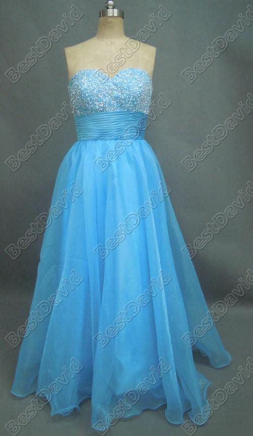 Actual Images Beaded Prom Dress 5110 Strapless Layered Tulle Floor ...