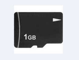 Wholesale 1gb Sdhc - 1GB Micro SD SDHC TF Flash Memory Card, Brand New 1 GB TransFlash Cards with adapters, 100pcs, DHL