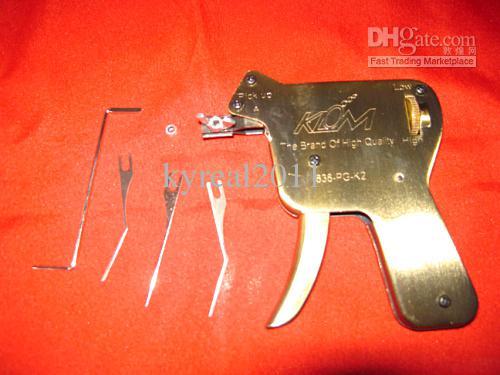 Klom Pick Up Gun UP Kilit Pick Set Yukarıya Doğru Kapı Kilidi Açıcı Çilingir Araçları