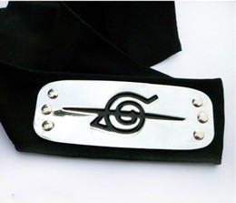 Wholesale Naruto Headbands - KAKASHI Head Band Naruto Anime Cosplay Konoha Traitor Headband