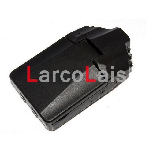 HD Cámara de coche DVR gran angular 270 grados de rotación 2.5 pulgadas LCD 6 IR Visión nocturna COCHE DVR Caja negra