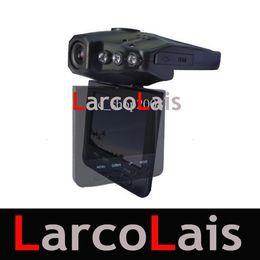 Scatola nera del DVR dell'automobile DVR di visione notturna di IR 6 di 2,5 pollici di rotazione di 270 gradi della macchina fotografica DVR grandangolare di 270 gradi da