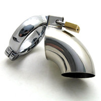 Wholesale Chastity Houdini - 1pc best price for The Penistentiary Male Chastity Device The Houdini Stainless Steel Chastity Enc